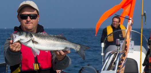 Compétition de pêche sportive aux Glénans