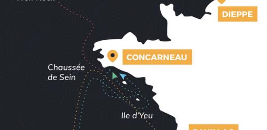 Concarneau, ville étape de la solitaire du Figaro 2017
