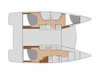 Location de voilier  LUCIA 40