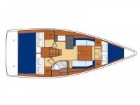 Location de voilier Bénéteau OCEANIS 35.1