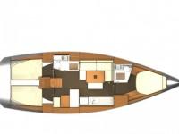 Location de voilier Dufour Yachts DUFOUR 405 Q -2010