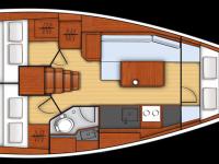 Location de voilier Bénéteau OCEANIS 35 Q -2015