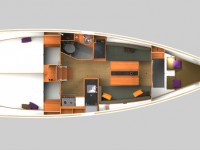 Location de voilier Jeanneau SUN ODYSSEY 349 QR 2018